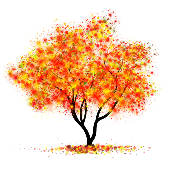 Autumn III: Tree in autumn