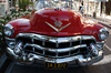 Classic 1950's Red Cadillac