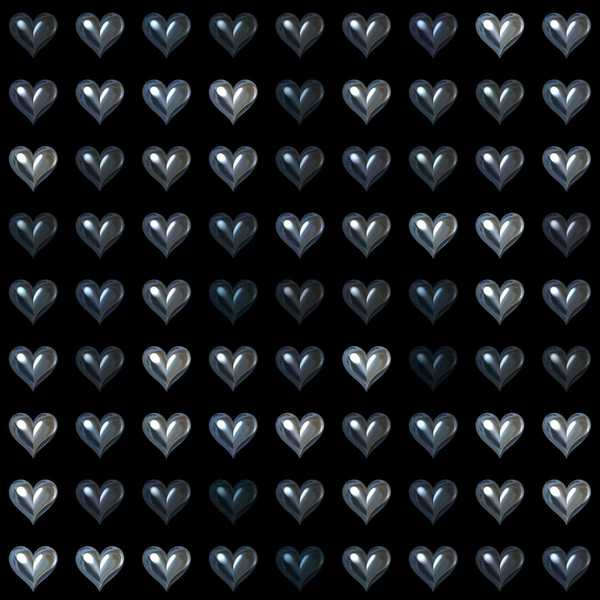 Dark Heart 1: A seamless metallic heart tile with a dark background. You may like: http://www.rgbstock.com/photo/2dyWTmj/Love or http://www.rgbstock.com/photo/mQiMNNQ/Lots+of+Hearts+18