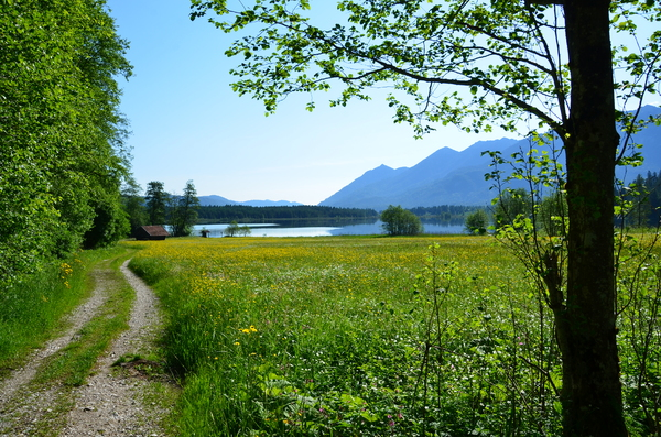 hiking around the Geroldsee: hiking around the Geroldsee