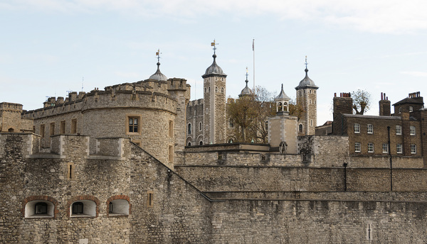 Tower of London: The Tower of London, England. Photography of the exterior of this building was freely permitted.