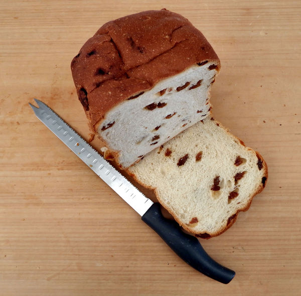 on the bread board8: white bread fruit loaf variety
