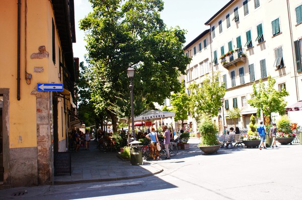Lucca: Picture taken in the streets of Lucca, Tuscany.