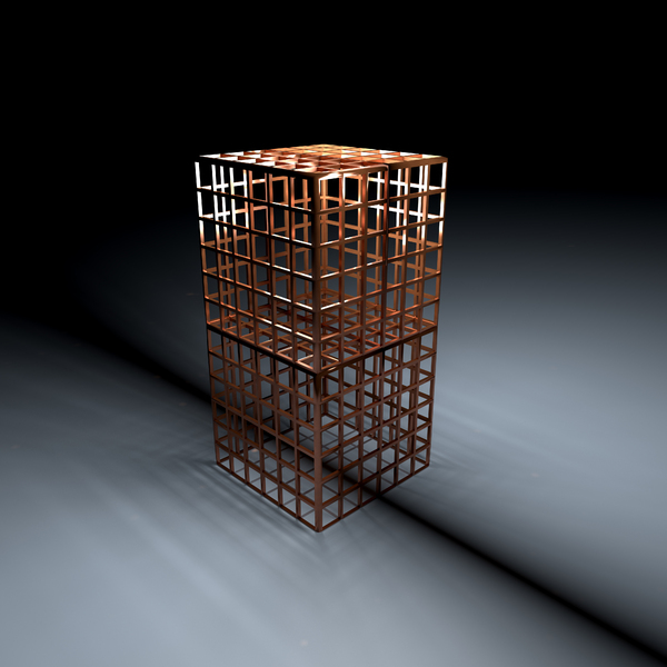 metal cages: metal cages-3d