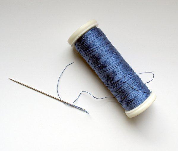 needle and thread: none