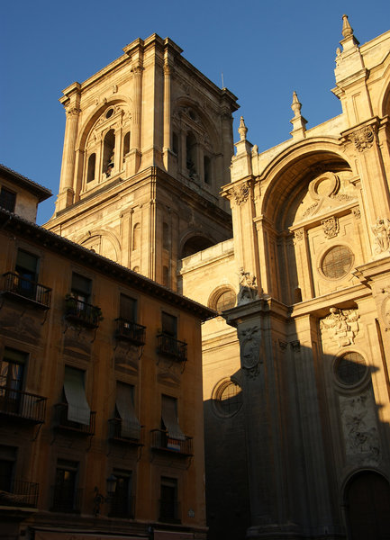Granada cathedral 4: The Cathedral of Granada, Spain.