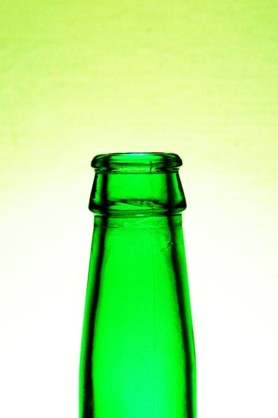 Green bottle 1: Green bottle