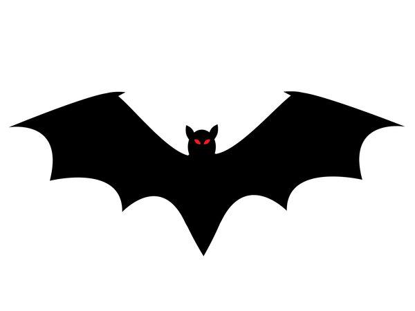 Bat Silhouette Frills