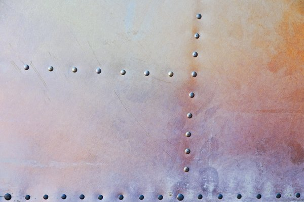 Helicopter texture 5: Rivets and metal panels from an old helicopter.