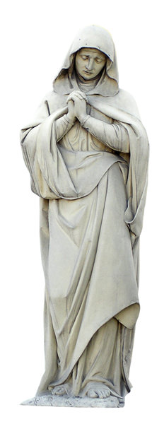 St Maria: St Maria figurine in Katowice, Poland.Please mail me if you found it useful. Just to let me know!I would be extremely happy to see the final work even if you think it is nothing special! For me it is (and for my portfolio)!