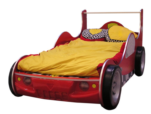 Original bed: A bed shaped as a racing car.Please comment this shot or mail me if you found it useful. Just to let me know!I would be extremely happy to see the final work even if you think it is nothing special! For me it is (and for my portfolio)!