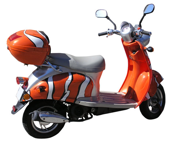 Nemo Scooter: Orange scooterPlease comment this shot or mail me if you found it useful. Just to let me know!I would be extremely happy to see the final work even if you think it is nothing special! For me it is (and for my portfolio)!