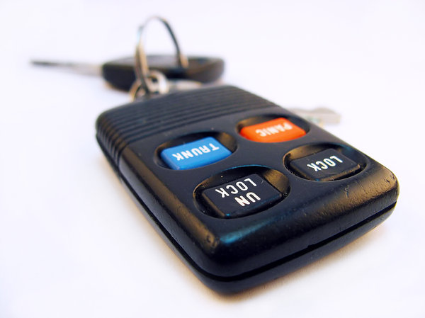 Car keys: Car keys and alarm remote