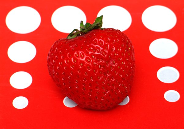 one strawberry: none