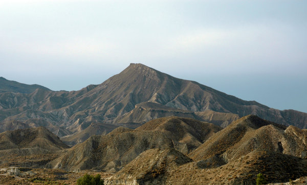 Desert: Desert of Tabernas in Almeria, Spain