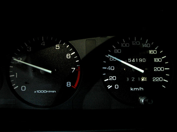 speed 60: Rover speedometer