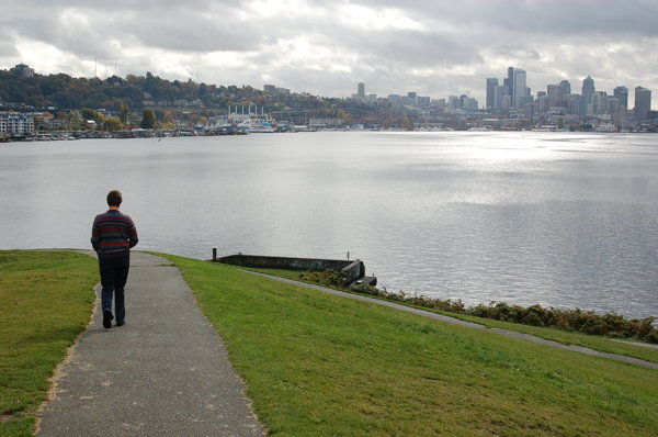 Seattle Park 1: A park at Union Bay... none of these have been touched up... it actually WAS this clean.