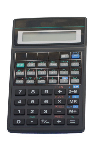 Math calculator: Keyboard of math calculator