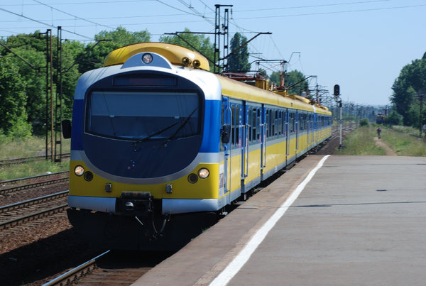 Train - shuttle service 1: City train in Poland