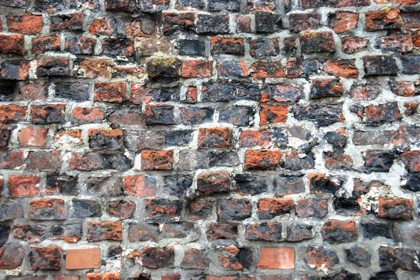 Medieval wall texture 1: Bricks and stones wall pattern