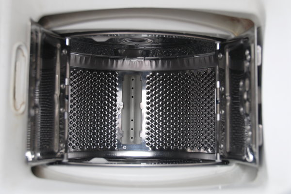 Tumber of washing-machine: Holes in washer tumbler - texture