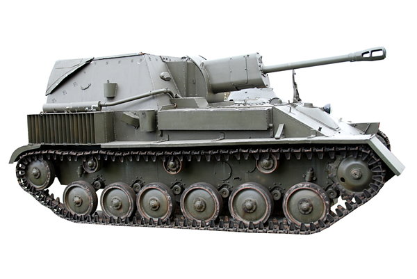 Soviet self-propelled gun SU-7: Soviet self-propelled gun used during World War II.