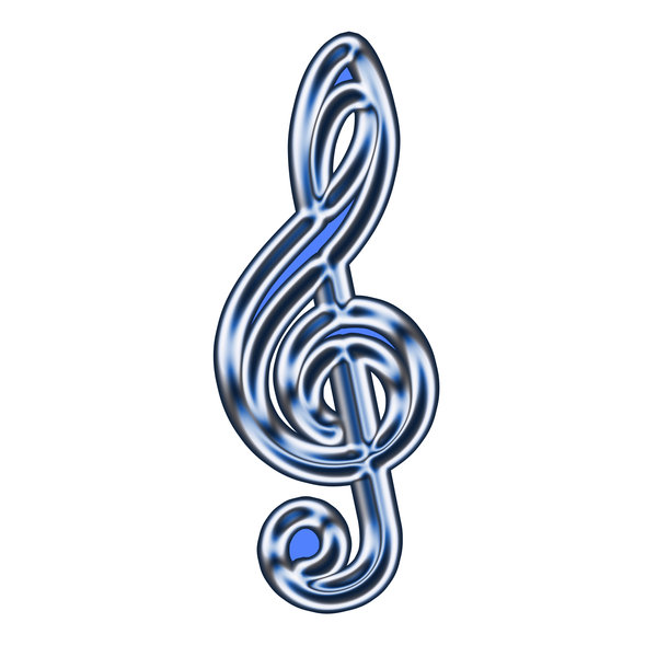 G-clef sign 2: A clef (from the French for