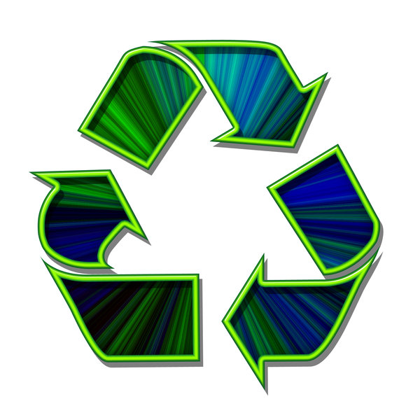 Recycling pictogram 5: Sign of ecological action