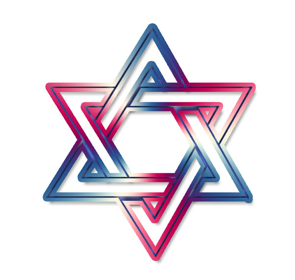 Star of David  2: The Star of David or Shield of David (Magen David in Hebrew) is a generally recognized symbol of Jewish identity and Judaism