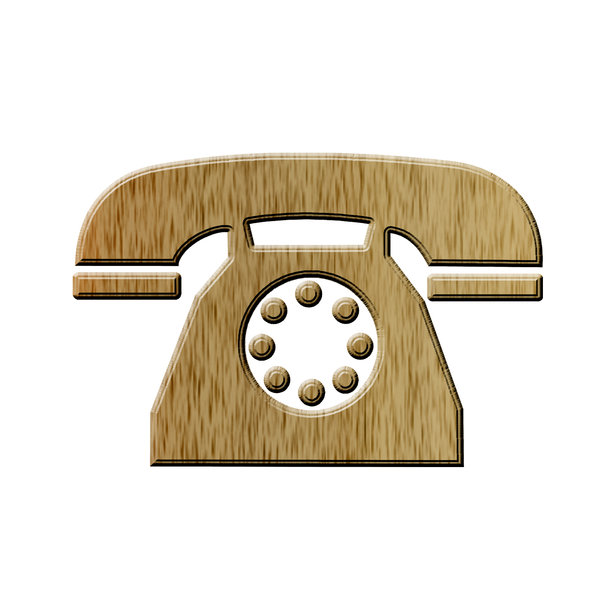 Telephone icon 6: Phone pictogram