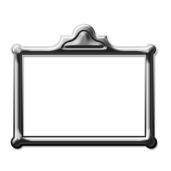 Rectangle picture frame 2: Rectangle for painting or photo