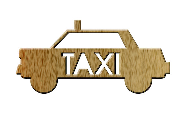 Taxi pictogram 6: Cab icon