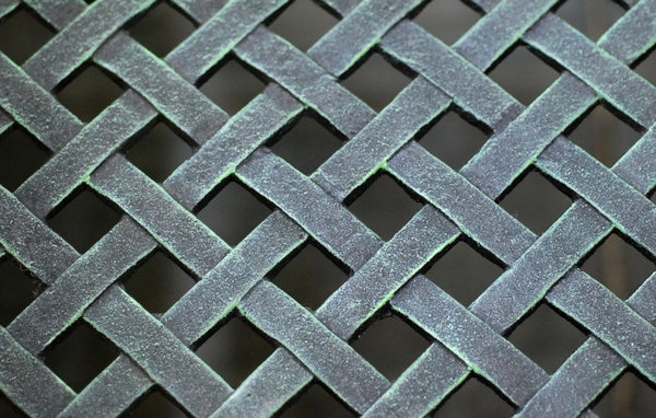 Grating texture: Crate pattern