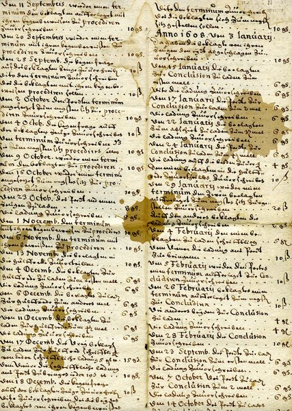 Old german scripture 2: German writting from early XVII-th century