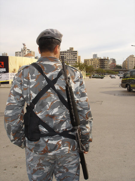 All quiet: Keeping the peace on the streets of Beirut