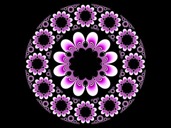 Circular 5: Circular fractal created using UltraFractal software.My other fractals:http://www.sxc.hu/browse. ..