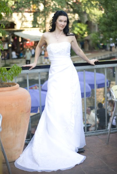 Tera: Tera in a Wedding Gown