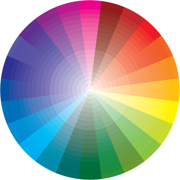 Color Model (Additive): This color wheel demonstrates the additive colour model. This representation is in the form of a colour wheel.