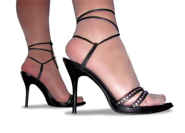high heels: Sexy high heels in two versions