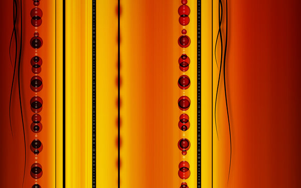 Orange abstract background: abstract background