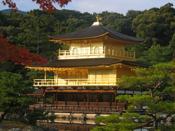 Golden Temple Kyoto: Golden temple in kyoto
