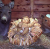 Baby in a manger 1