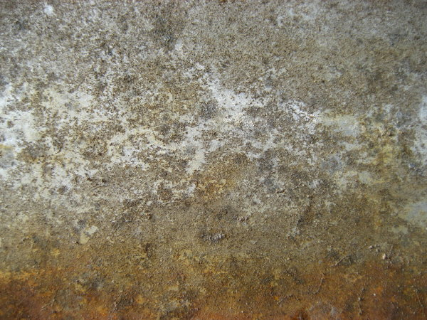 rusty concrete: ...