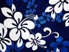 Hibiscus fabric