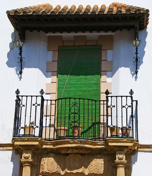 Balcony in Ronda: no description