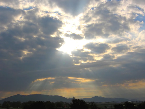 Sunrise over Roanoke: Sunrise over Roanoke, Va.