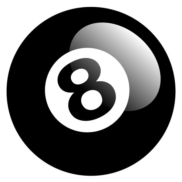 8 Ball - 2: 8 ball illustration.