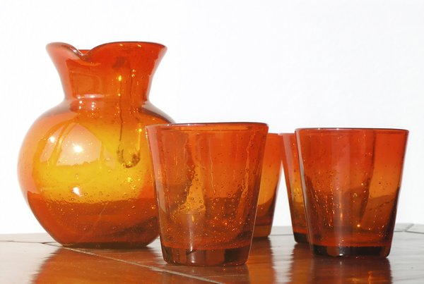 Summer glass: Red juice set