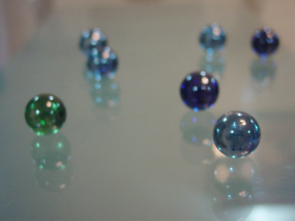 marbles attack 1: experimenting with focus... losing my marbles...