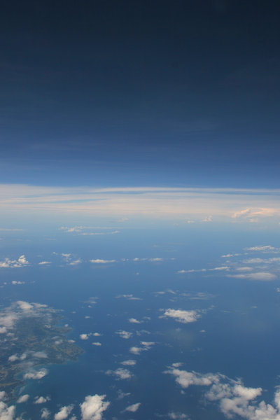 beyond: shot from a plane